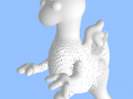 3D intuitive modelling : Toon Dragon
