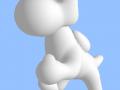 3D intuitive modelling : Nintendo Yoshi
